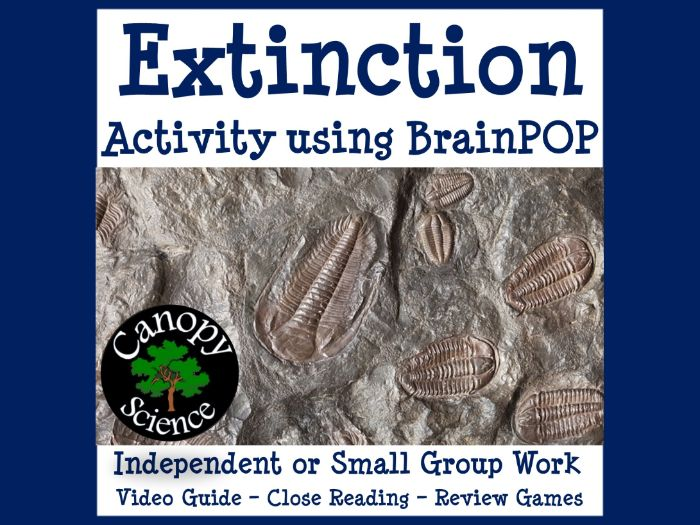 Extinction Activity using BrainPOP