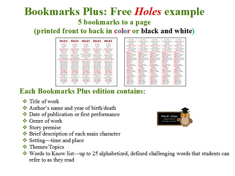 A Year Down Under edition of Bookmarks Plus: Fun Freebie and a Very Handy Reading Aid!