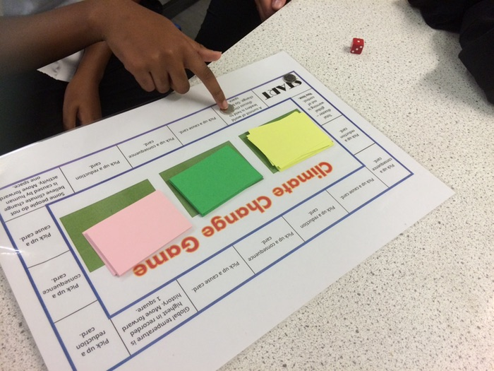 Climate Change Board Game - Ideal for new AQA Chemistry GCSE or old B3 AQA Biology.