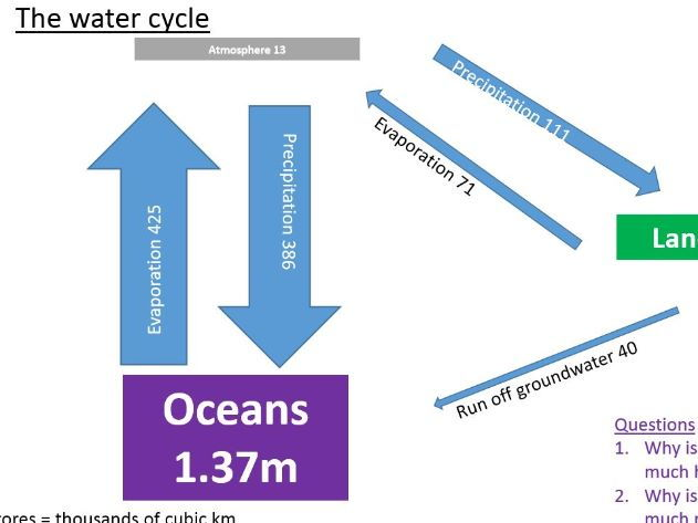 A Level; How important is water to life on earth?