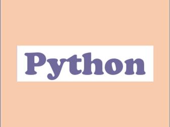 Python Calculator - Using Subroutines