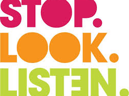 Road Safety Stop Look Listen Live