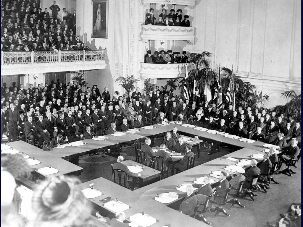 Class Task: Model Paris Peace Conference of 1919