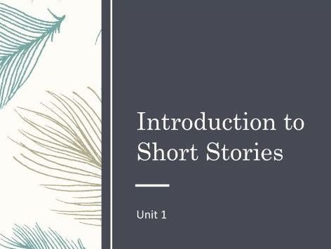 Short Stories: Characters