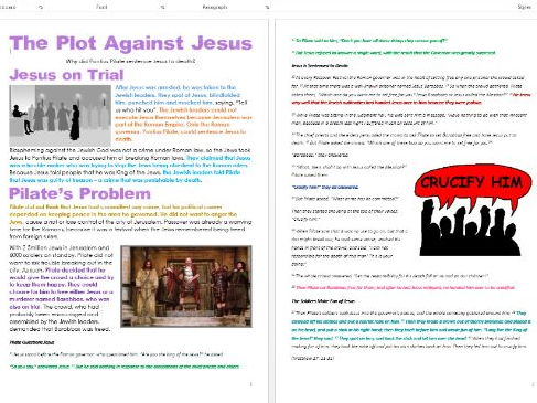 Jesus in Jerusalem: The Plot Against Jesus: Differentiated Activity Sheets