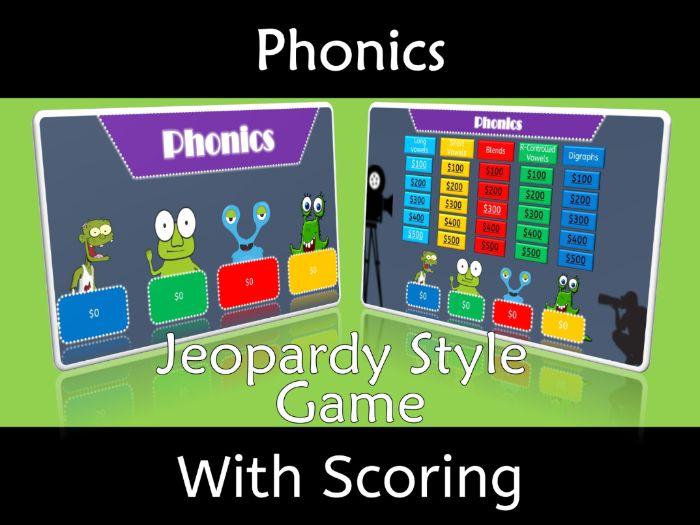 Phonics Jeopardy