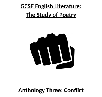 Conflict Poetry Lessons, Analysis and Context (CCEA GCSE)
