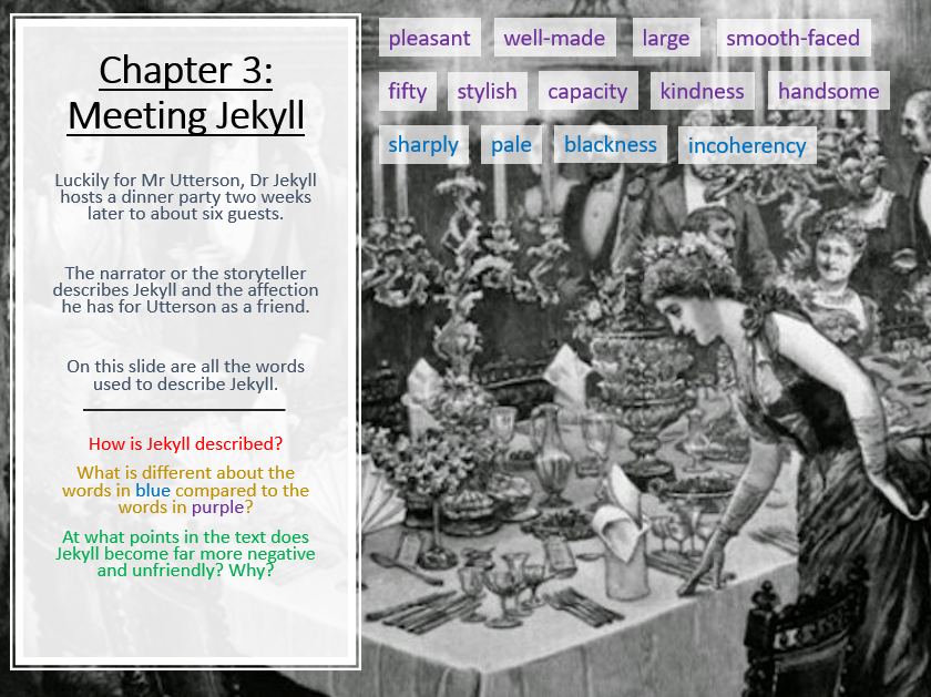 Jekyll and Hyde - Chapter 3: Jekyll