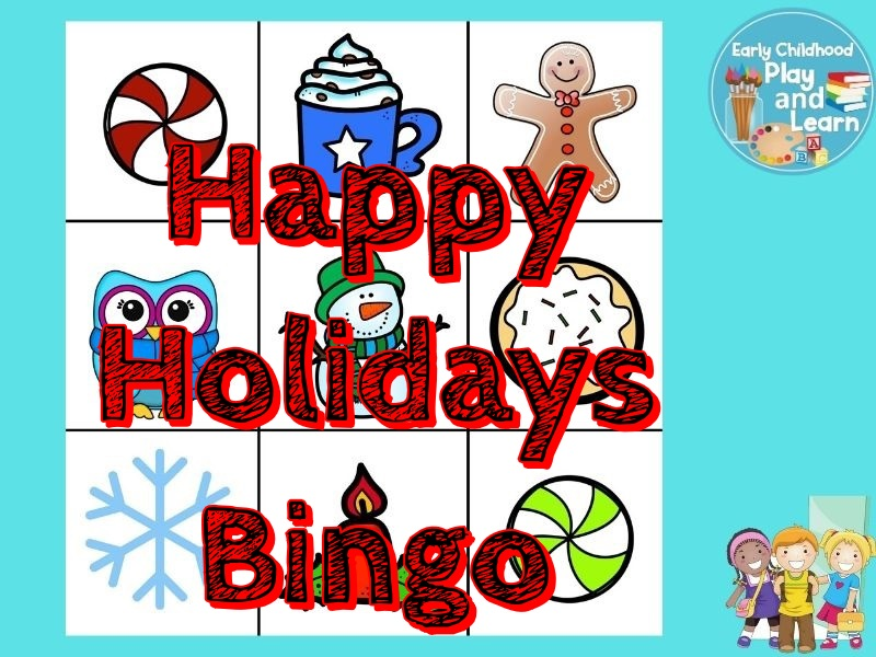 Happy Holidays Bingo