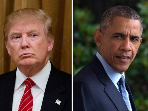 INTRODUCTION TO COMPARISON - Trump vs Obama - can be used with any GCSE English exam board