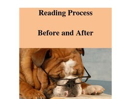 Reading Process Before and After