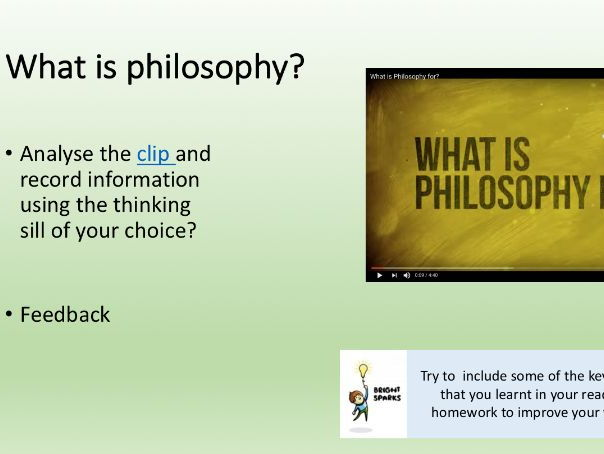 Introduction to Philosophy - Edexcel A-level