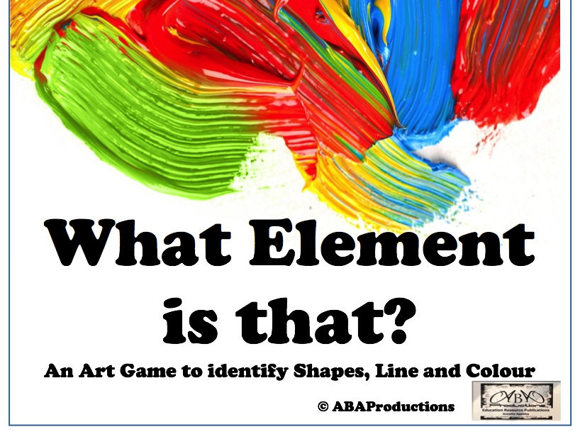 Art Game - 'What Element is That?'