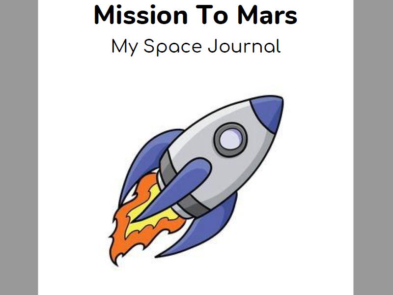 Physical Education | KS2 Fitness Journal | IPC | Mission to Mars