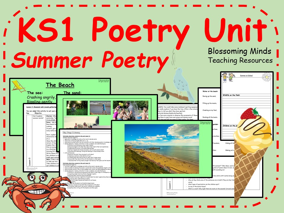 KS1 Summer Poetry Unit