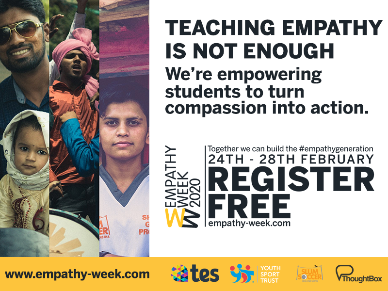 Empathy Week - Day 1 (KS3 RESOURCES)