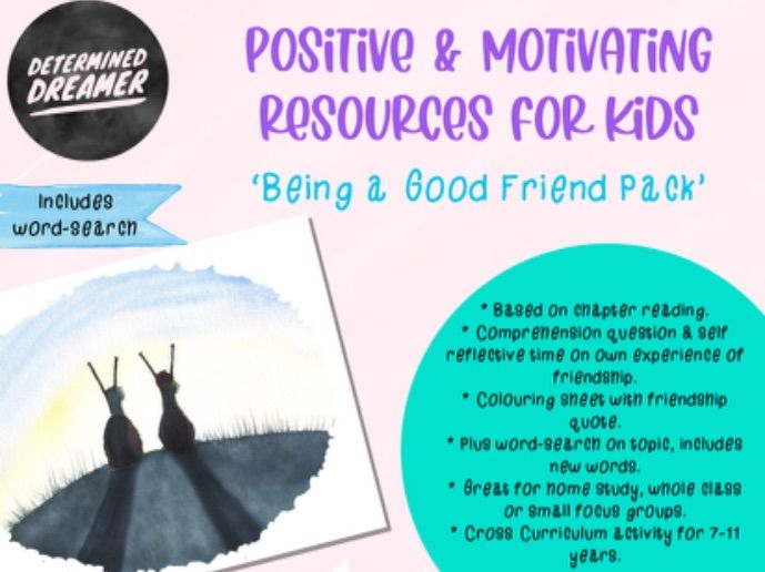 Being a Good Friend - Comprehension & Self reflective activity + colouring sheet on friendship. KS2
