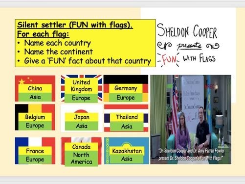 STARTERS: GCSE and KS3 Geography