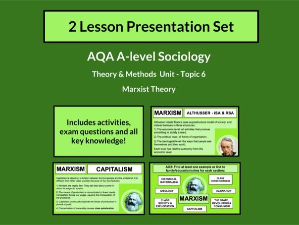 Marxist Theory - AQA A-level Sociology - Theory and Methods - Topic 6