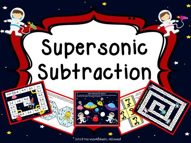 Reception Subtraction Games and Activities