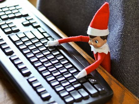 Christmas (Elf on the shelf) Time Worksheets - digital - differentiated