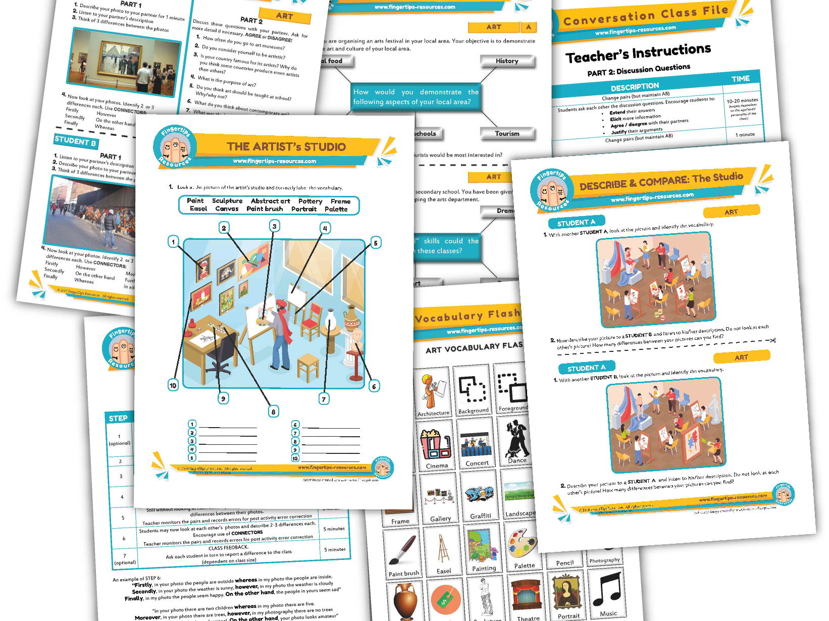 Art Unit - ESL Activity Bundle