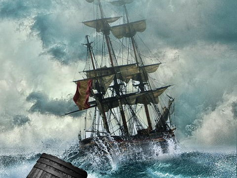 Structure and literary devices in the poem 'The Rhyme of the Ancient Mariner'