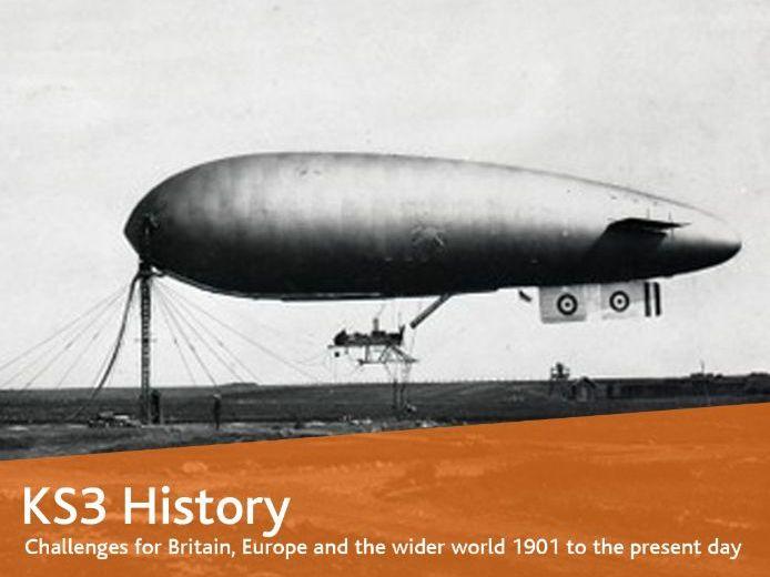 The Zeppelin Air Raids