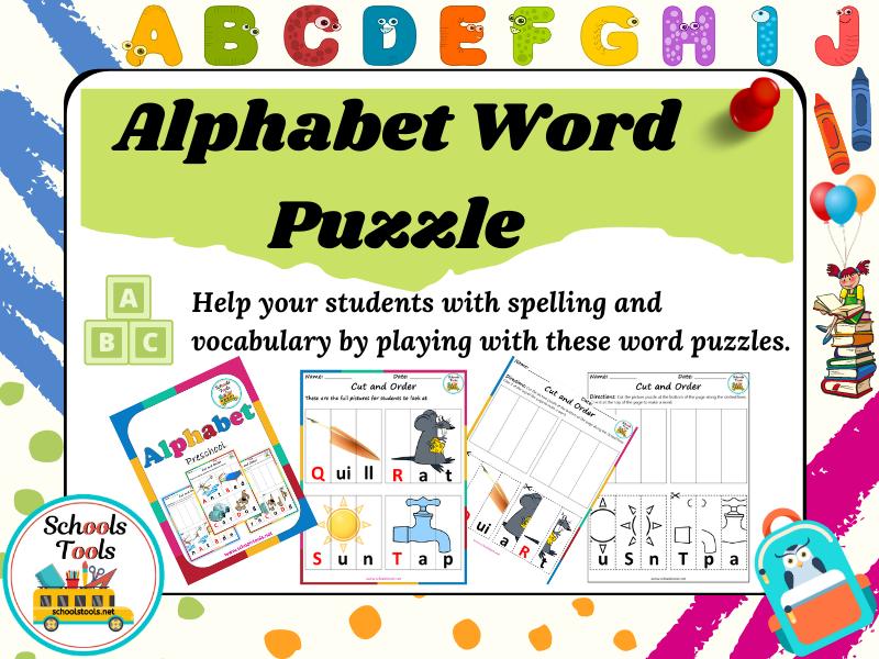 Alphabet Word Puzzle