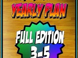 PE 3rd-5th Grade Yearly Plan 2