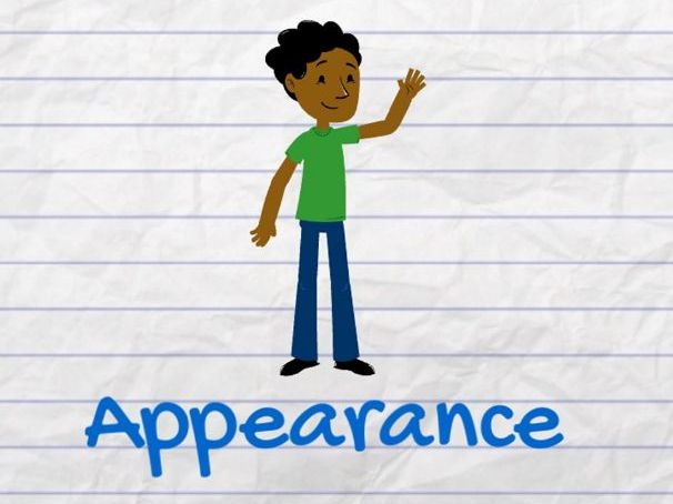 """Describe Your Appearance in English"" Resource Pack for Teachers"