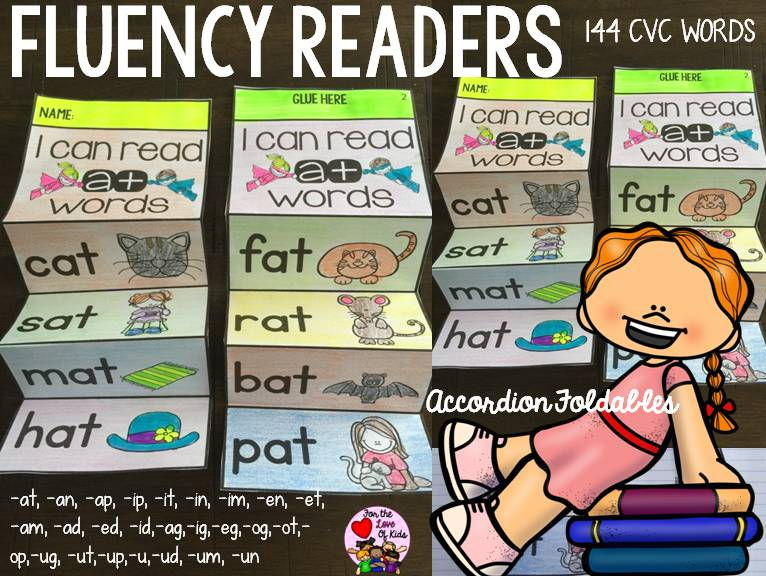READING FLUENCY: CVC WORDS