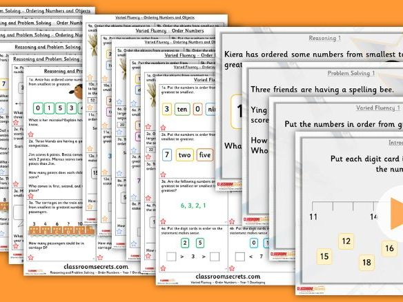 Primary maths resources maths worksheets and materials for ks1 and year 12 mixed age autumn block 1 step 10 lesson pack ccuart Choice Image
