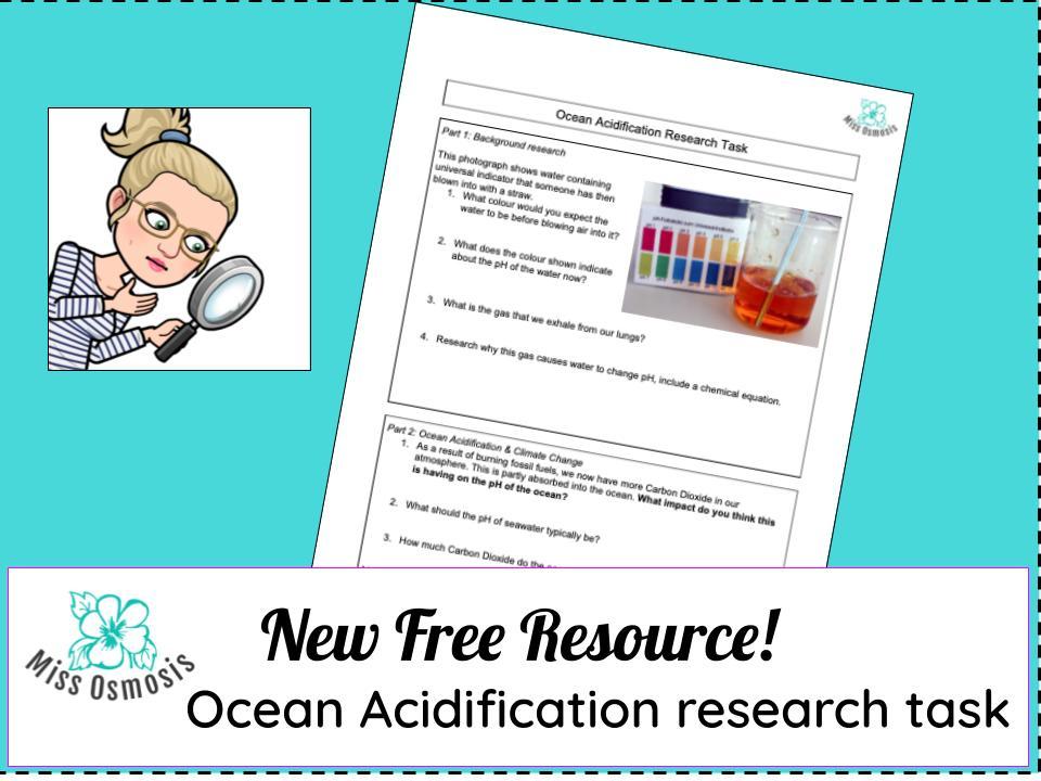 Ocean Acidification Research Task