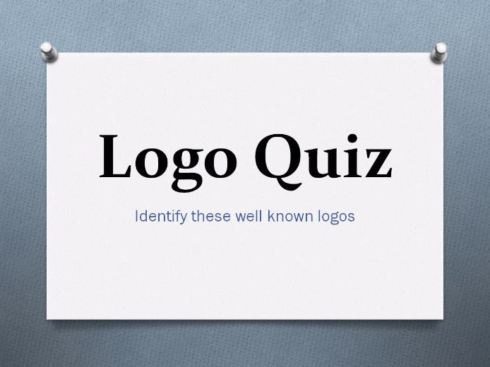 Fun Logo Quiz