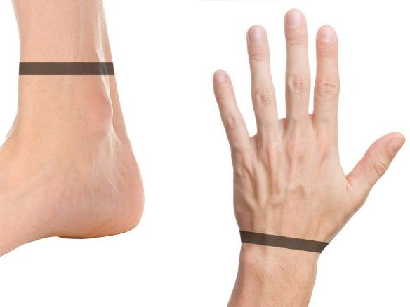 Measuring Wrist and Ankle Circumference