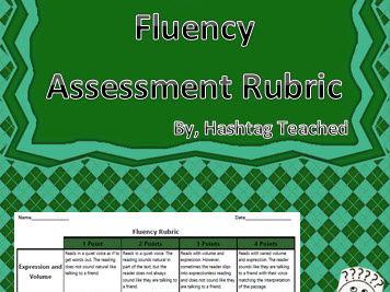 Oral Presentation Fluency Assessment (Rubric Only)