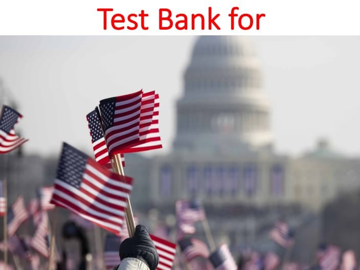 Test Bank The U.S. Business Environment