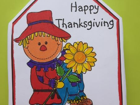 Thanksgiving Crafts - Twist POP-UP Craftivity