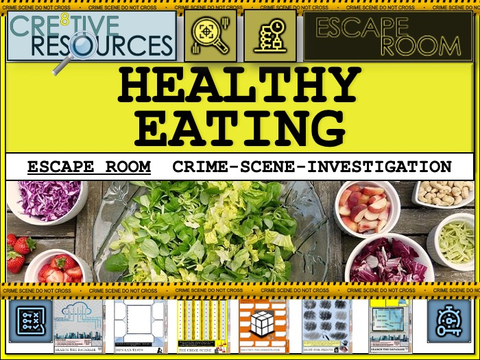 PSHE Escape room - Healthy Eating