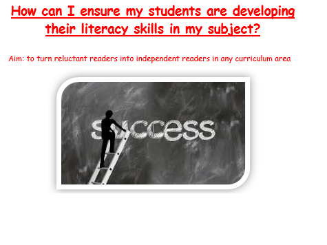 Reaching Reluctant Readers Across the Curriculum