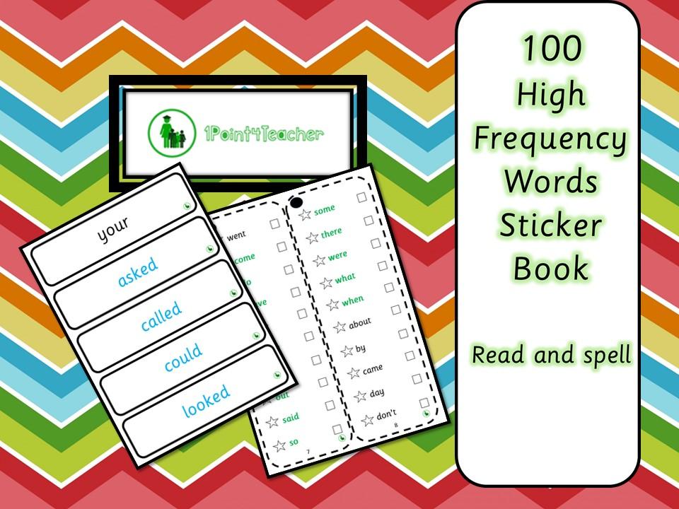 100 HFW Sticker Book