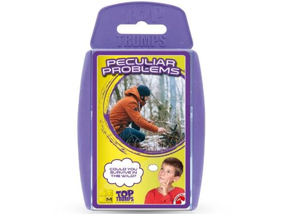 STEM Peculiar Problems Official Top Trumps - Full Deck