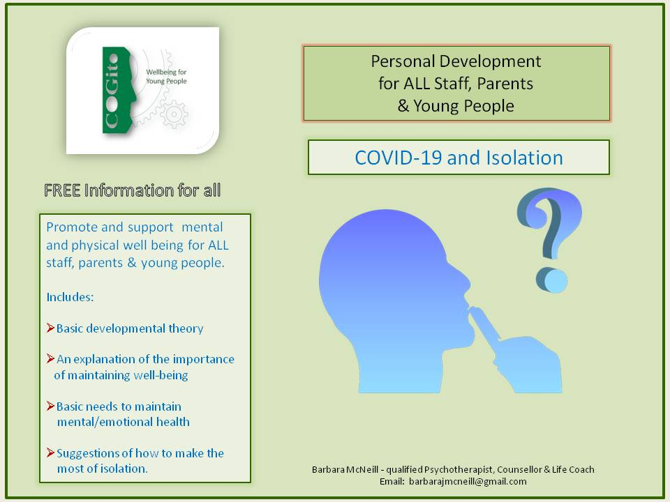 COVID-19: Isolation & Well-Being for All