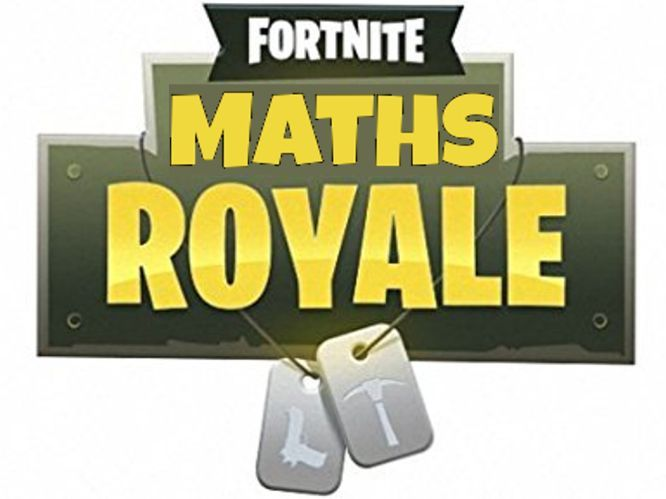 Fortnite Maths Lesson - Missing angles using SOHCAHTOA