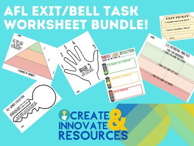 Exit Task or Bell Task Bundle
