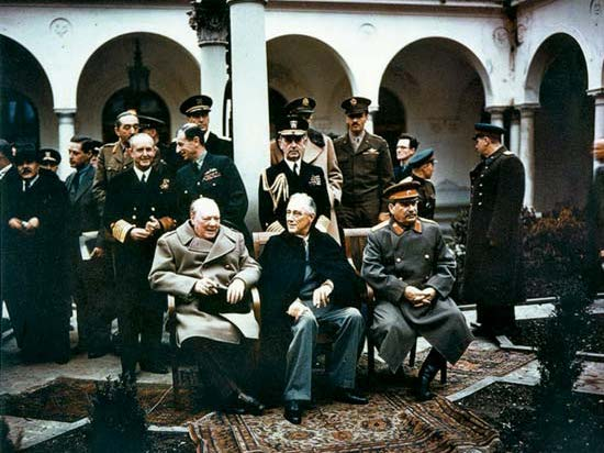 The Yalta Conference and Potsdam Conference