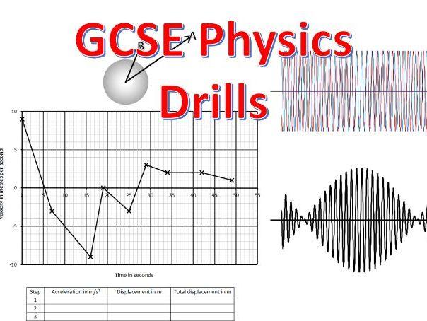 GCSE Physics Drills (question generators)