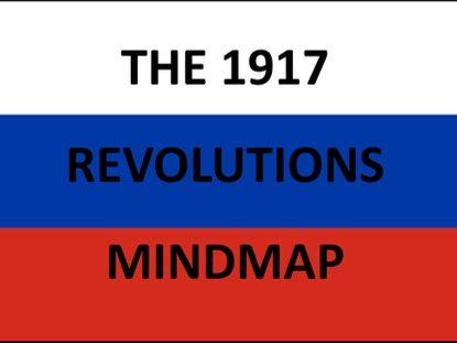 The 1917 Revolutions Mindmap - Russia 1894–1941