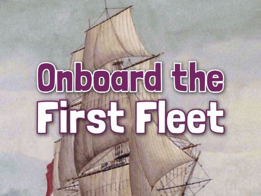 Onboard the First Fleet Resource Bundle